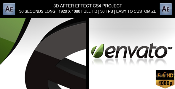 After Effects Project - VideoHive 3D Modern Logo Reveal 150787