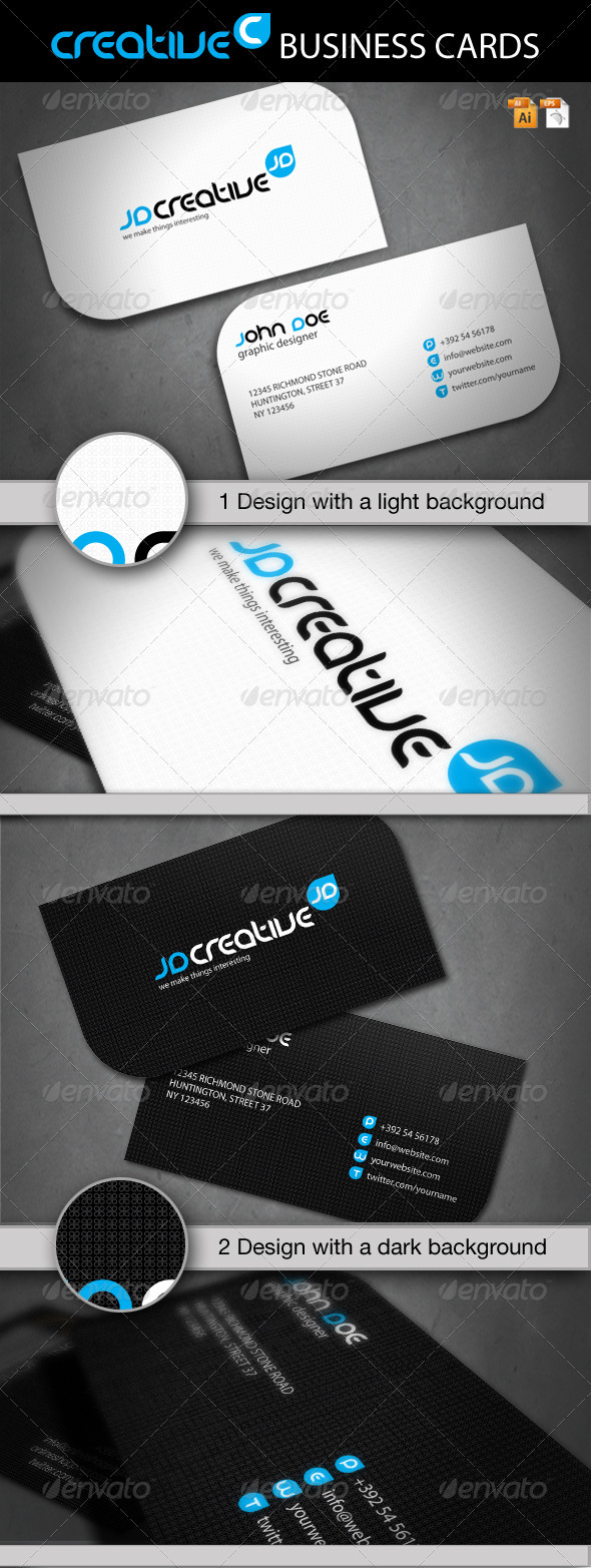 GraphicRiver Creative Business Card 1245375