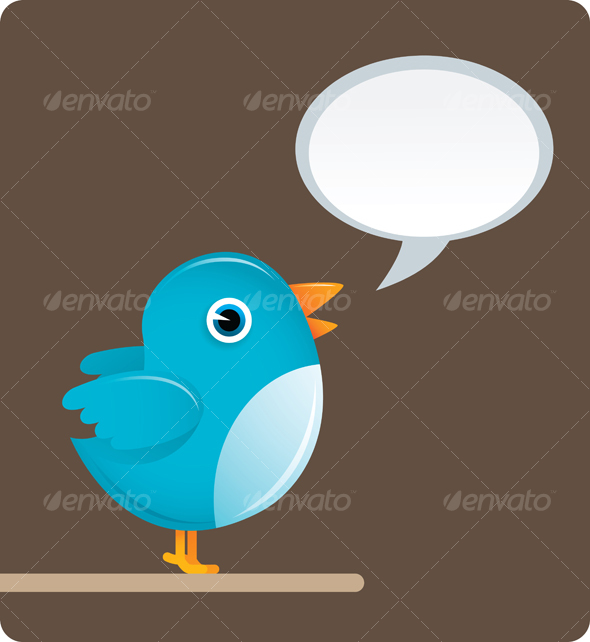 GraphicRiver Twitter Bird 40205