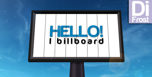 After Effects Project - VideoHive Billboard 1221255