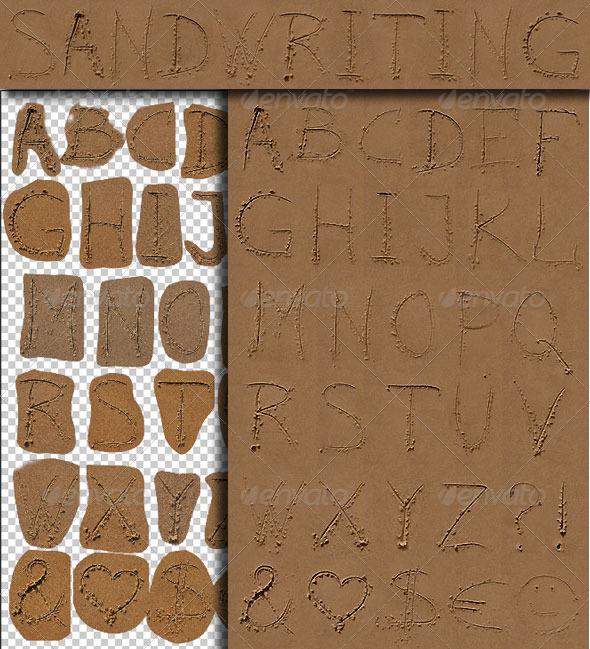 GraphicRiver Sandwriting 135243