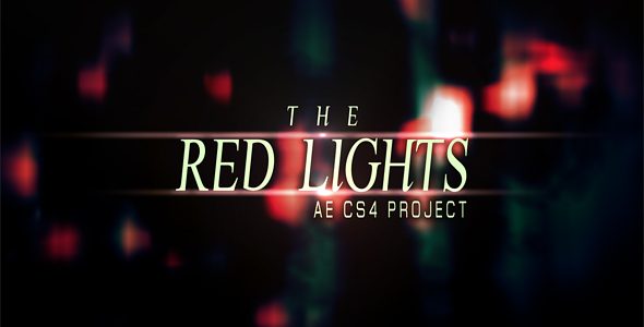 After Effects Project - VideoHive Red Lights PRJ 151249