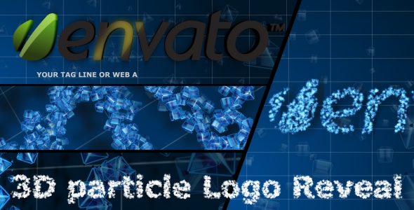 After Effects Project - VideoHive 3D Particle Logo Reveal 151735