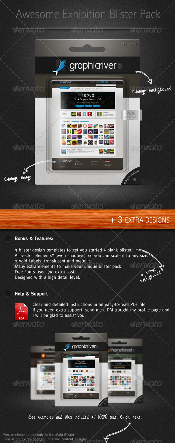 GraphicRiver Exhibition Blister Pack Mock-up 152008