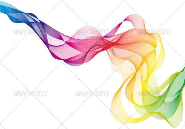 GraphicRiver Colorful Vector Smoke 1263799