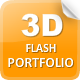 3D Flash Portfolio - ActiveDen Item for Sale