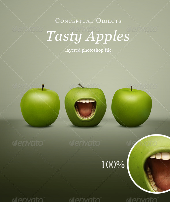 GraphicRiver Hungry Apples 152821