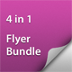 Get Minimal - Flyer Bundle 01 - GraphicRiver Item for Sale