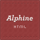 Alphine - HTML Portfolio & Blog Template  - ThemeForest Item for Sale