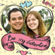 Valentines Day Card with a Photo, Hand Made Style - GraphicRiver Item for Sale