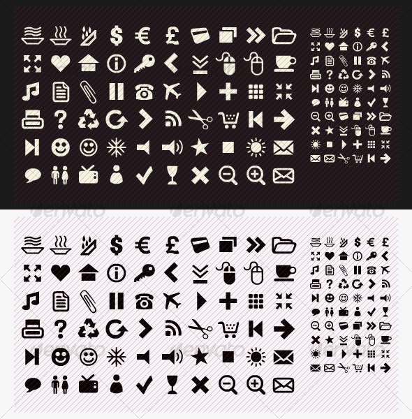GraphicRiver Pack of 60 Icons 28824