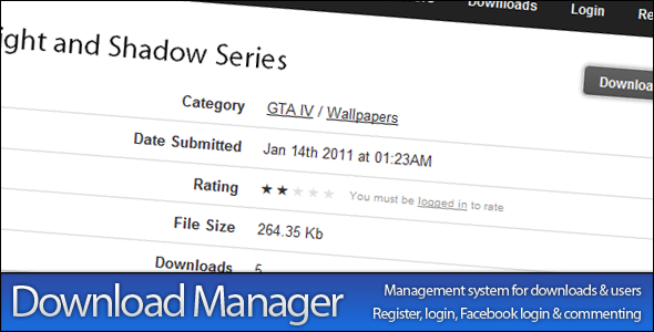 CodeCanyon Download Manager 153587