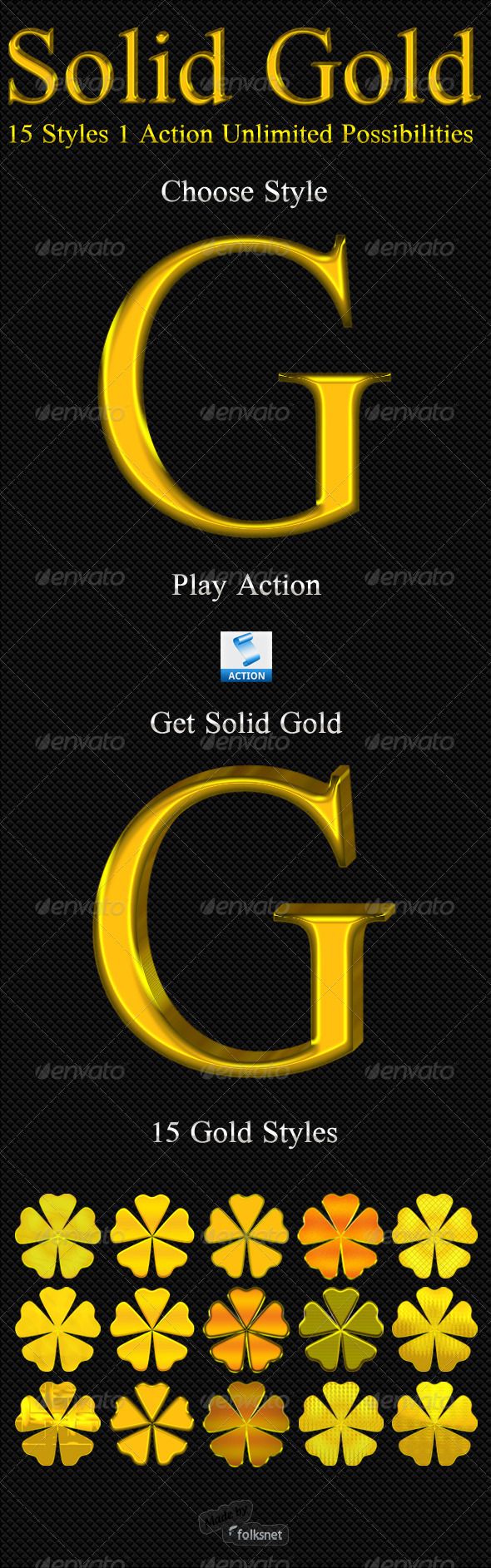 GraphicRiver Solid Gold 122180