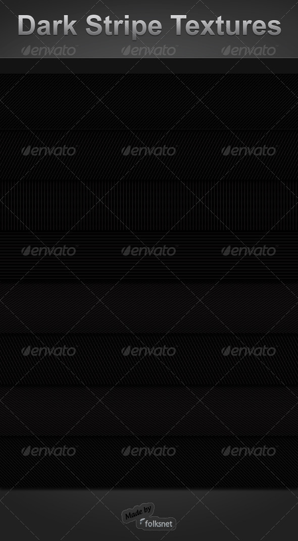 GraphicRiver Dark Stripe Textures 124739