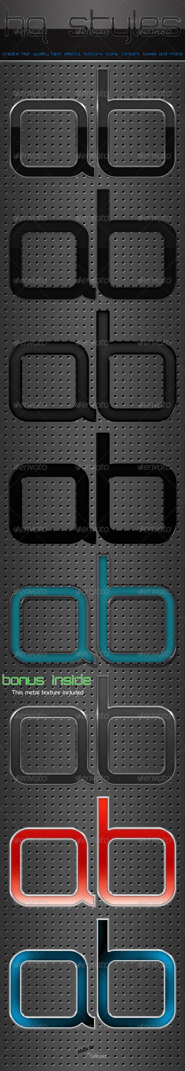 GraphicRiver HQ Styles 132002