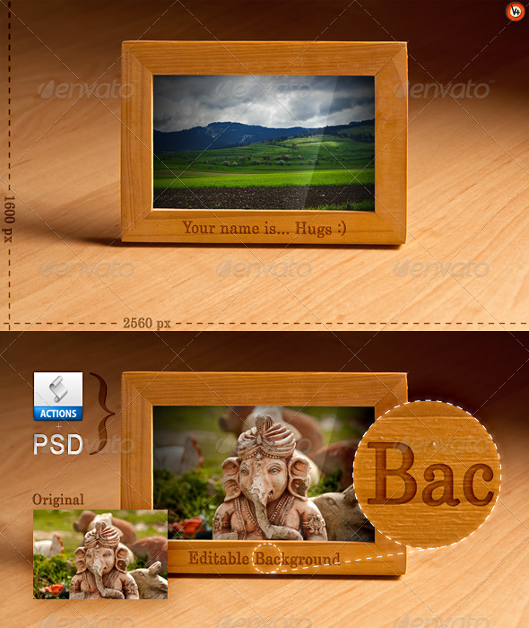 GraphicRiver Hugs Clean Desktop Editable Background 153902