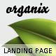 Organix - Simple Product Oriented Landing Page - ThemeForest Item for Sale