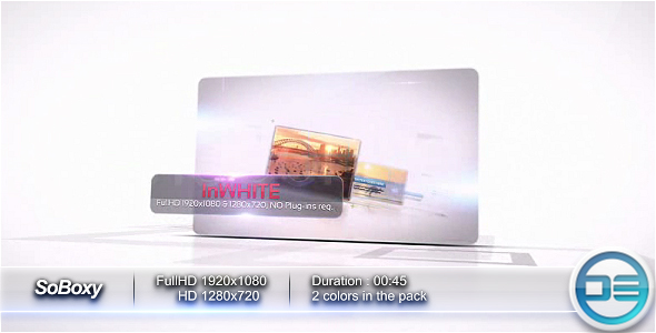 After Effects Project - VideoHive SoBoxy 95919