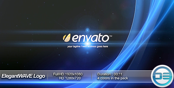 After Effects Project - VideoHive ElegantWAVE Logo 88712