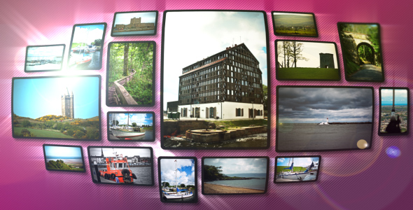 After Effects Project - VideoHive The Pictures AE CS3 project 90455