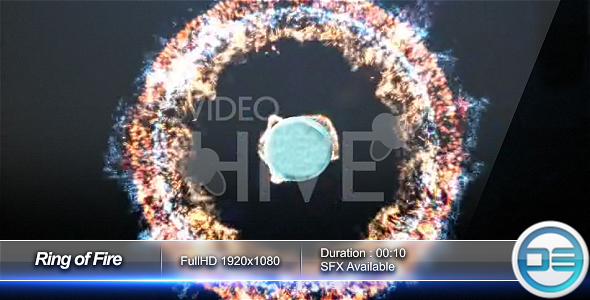 After Effects Project - VideoHive Ring of Fire 49696