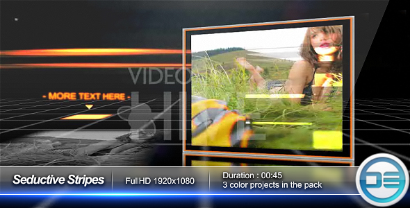 After Effects Project - VideoHive Seductive Stripes 50073