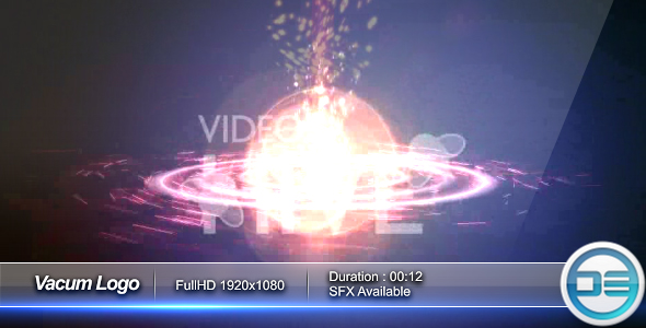 After Effects Project - VideoHive VacumLogo Intro 62428