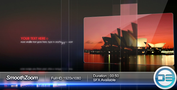 After Effects Project - VideoHive Smooth Zoom 57963