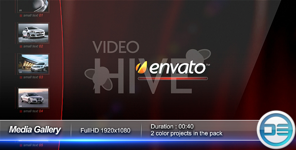 After Effects Project - VideoHive Media Gallery 56162