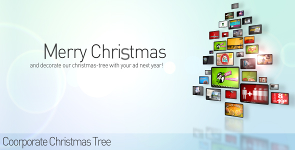 After Effects Project - VideoHive Corporate Christmas Tree 71971