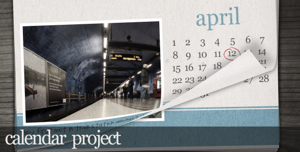 After Effects Project - VideoHive Calendar project 71188