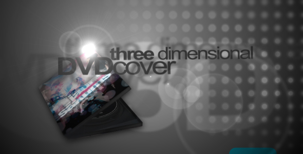 After Effects Project - VideoHive 3D DVD cover mock-up 54011