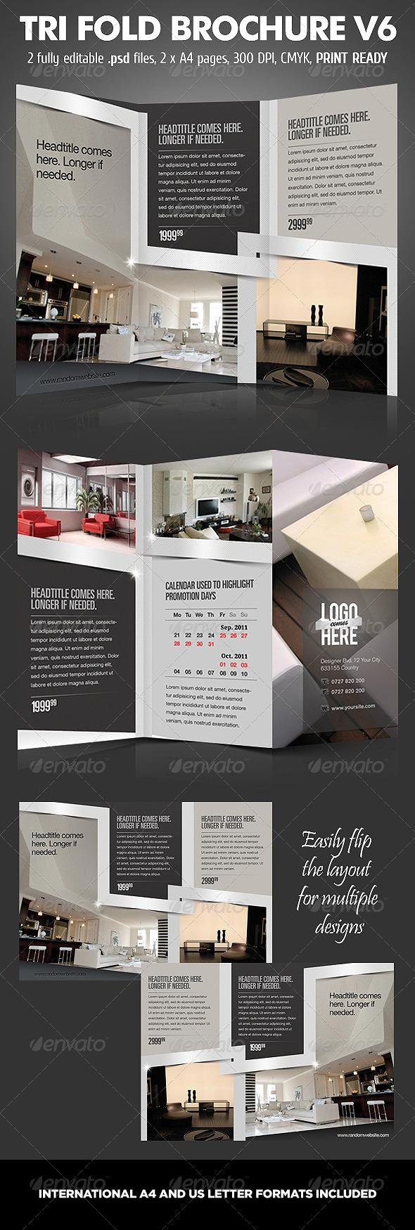 GraphicRiver TriFold Brochure V6 760186