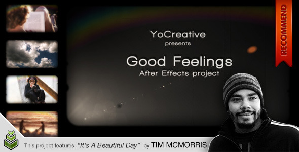 After Effects Project - VideoHive Good Feelings 123999