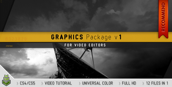 After Effects Project - VideoHive Graphics Package v1 1098857