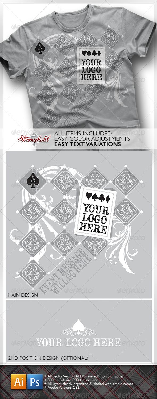 GraphicRiver Poker Club T-Shirt 1285568