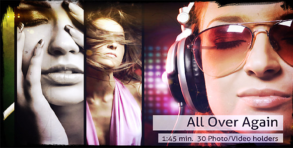 After Effects Project - VideoHive All Over Again 1287436