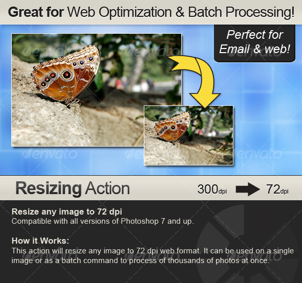 GraphicRiver Resizing Action Resizes from any dpi to 72 dpi 51446