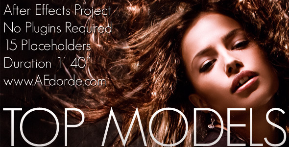 After Effects Project - VideoHive Top Models 743983