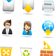 Matte icons 2 - GraphicRiver Item for Sale