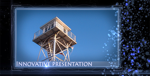 After Effects Project - VideoHive Blue Particles Displays 1291629