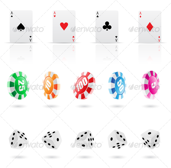 GraphicRiver casino elements icons 51604
