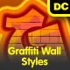 Graffiti Wall Styles - GraphicRiver Item for Sale