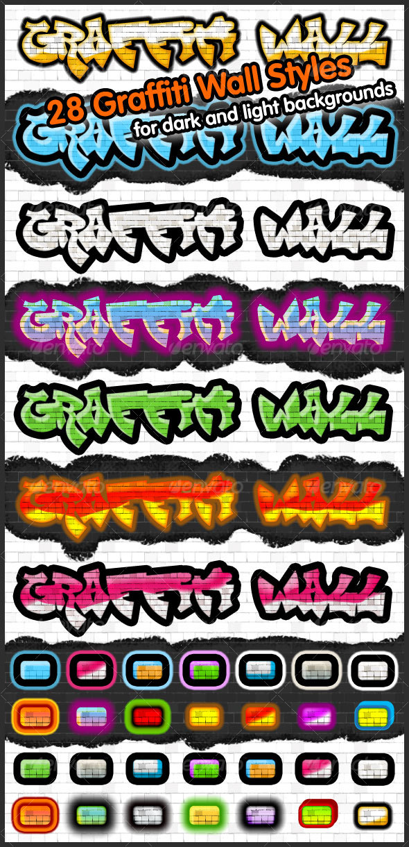 GraphicRiver Graffiti Wall Styles 51607