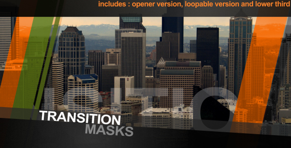 After Effects Project - VideoHive Intro Transition Masks 155595
