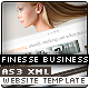 Finesse AS3 XML Business Website Template - ActiveDen Item for Sale
