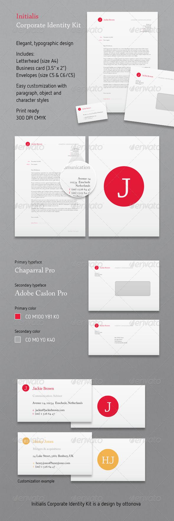 GraphicRiver Initialis Corporate Identity Kit 156052