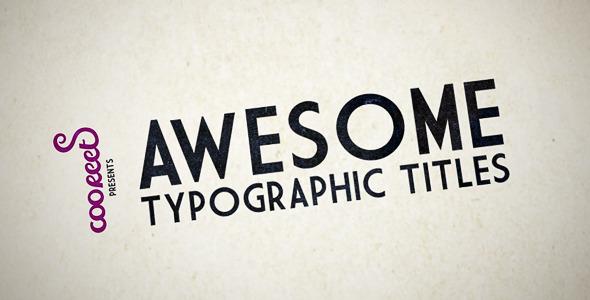 After Effects Project - VideoHive HD Kinetic Typography 1251769