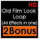 Old Film Look Loop (All Effects in one) - VideoHive Item for Sale