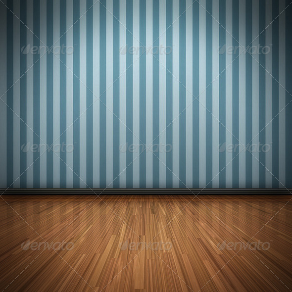 GraphicRiver Blue Wall 1300579